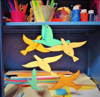 Animiamo il cielo con gli uccelli etruschi