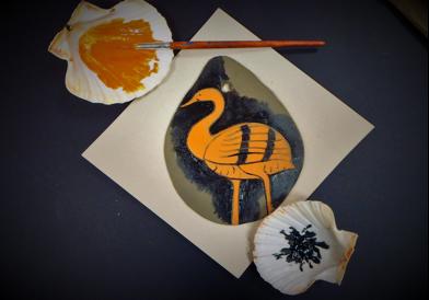 La magia dell'airone nella ceramica attica