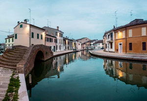 Comacchio, la piccola Venezia