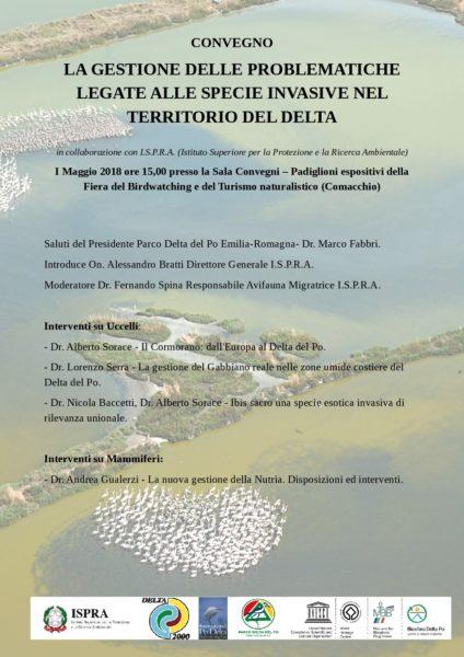 La gestione delle problematiche legate alle specie invasive nel territorio del Delta