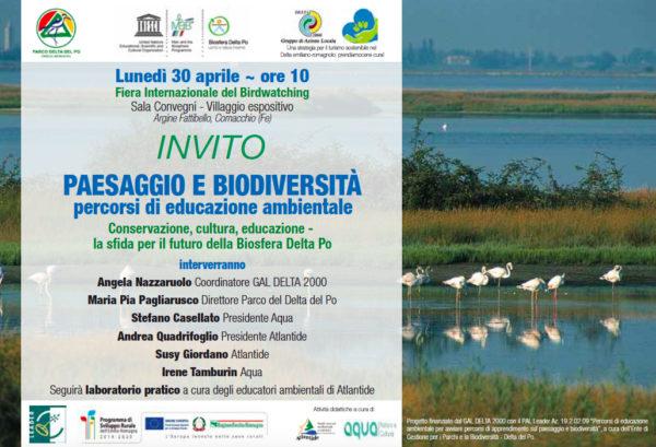 """Convegno """"Paesaggio e biodiversità"""""""